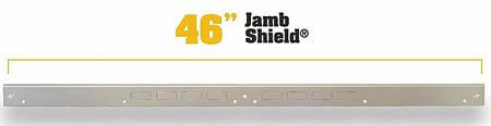 door jamb reinforcement plate