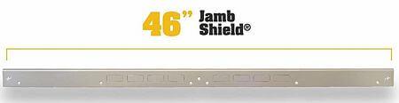 door jamb reinforcement plate