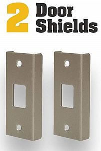 door lock reinforcement plates