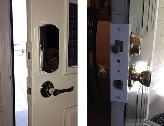 lock and door reinforcer
